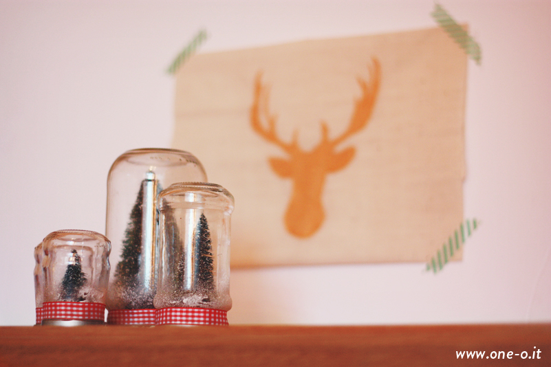 DIY Holiday decor for small spaces | via www.one-o.it
