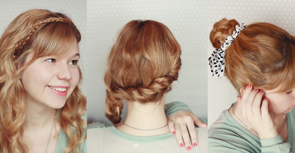 quick braided hairstyles : quick and easy braided hairstyles One O DIY
