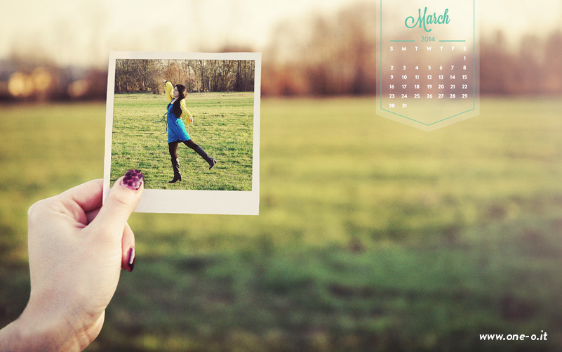 Welcome march | Free desktop download | via www.one-o.it | #freebie #download #free #desktop #wallpaper