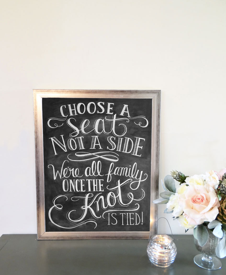 Lily & Val at One O #handmade #craft #business #etsy #chalkboard #lettering #type #card #print