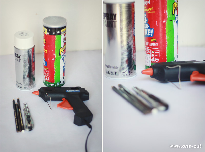DIY pencil  pen holder | via www.one-o.it | #diy #home #studio #office #penholder #pencilholder #pen
