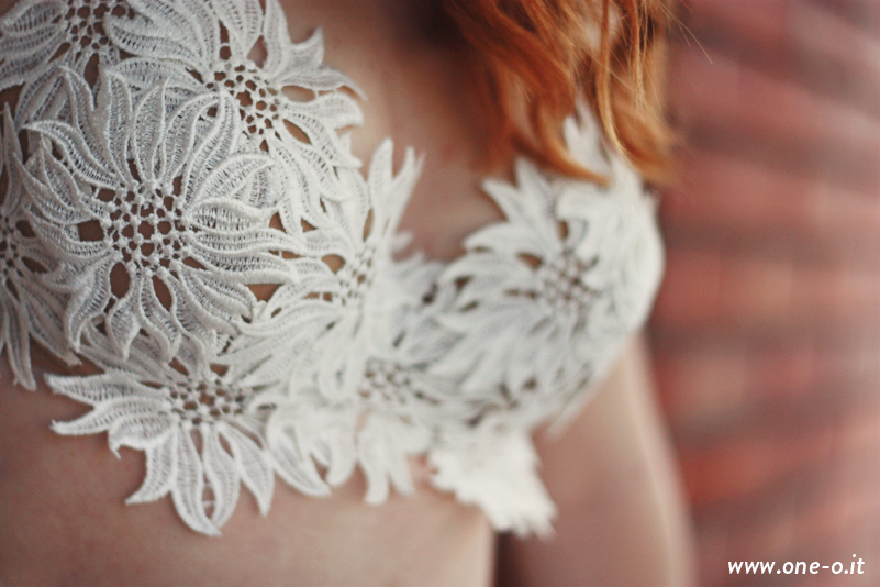 #DIY #lace #summer #top | via www.one-o.it