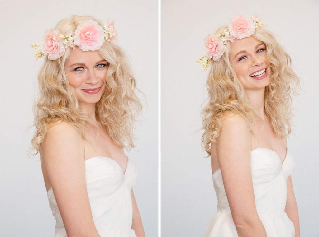 Wedding floral crowns and headbands | We love - via www.one-o.it | #etsy #finds #DIY #floral #crown flower #wedding