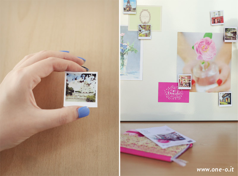 DIY Polaroid magnet | via www.one-o.it | #diy #home #ideas #photography #polaroid