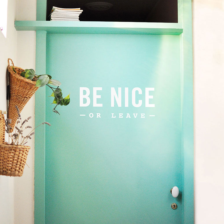 Cheery & meaningful wall decals let's meet Made of Sundays One O #home #decor #lovely #handmade #oneo