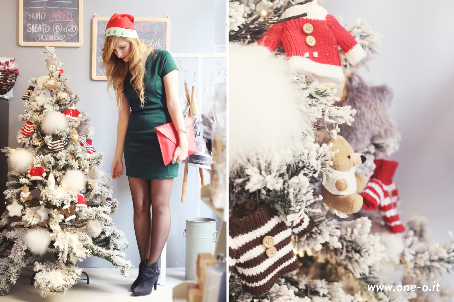 4_outfits_perfect_for_your_Christmas_06#christmas #clothes #fashion #green #ideas #inspiration #ootd #outfit #pinup #red #sparkling #style #trend #vintage #winter #xmas #newyeareve