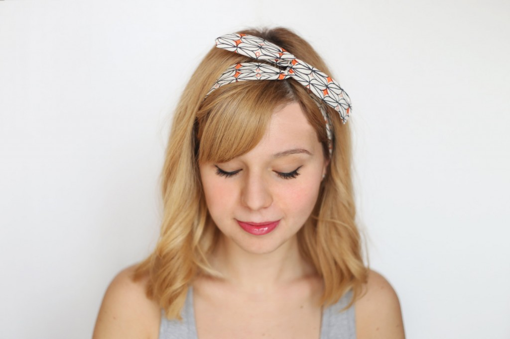 Wire Headband | Coral | Agnelli Boulevard Pattern
