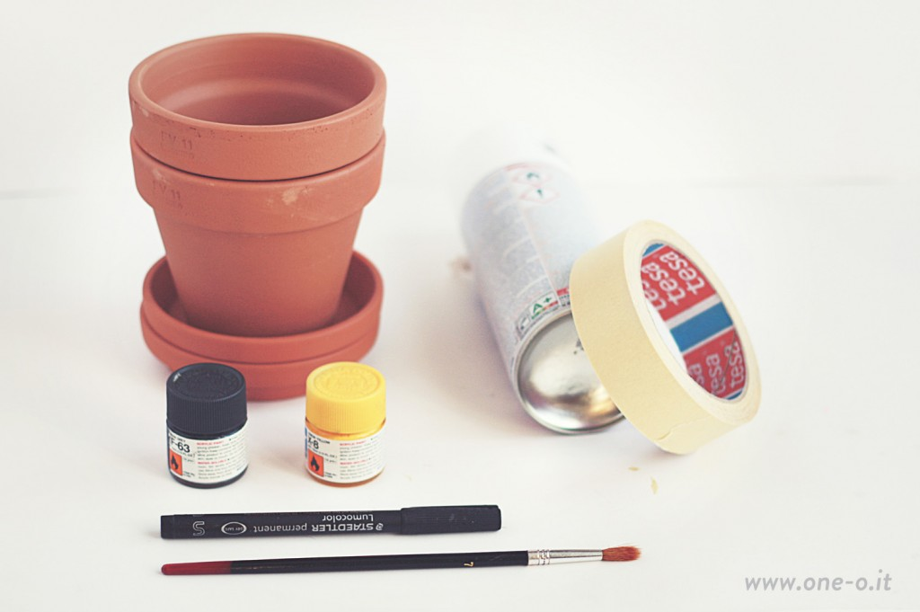 DIY Terracotta Vase Restyling One O 01