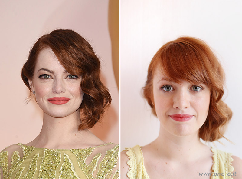 Emma Stone Oscar 2015 Hair | via www.one-o.it | #hairstyle #diy #tutorial  #oscar #idea