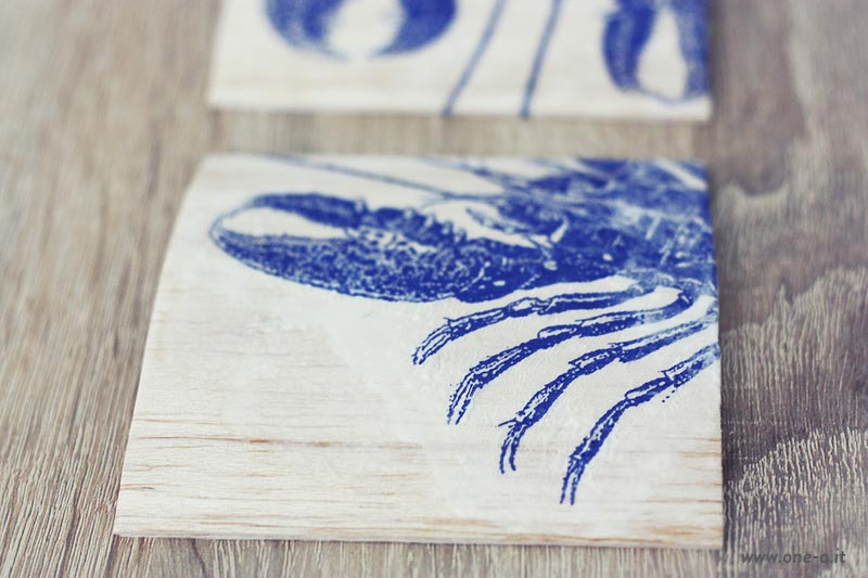 #DIY #Faux #Printed #Wood #Coaster #Oneo 01