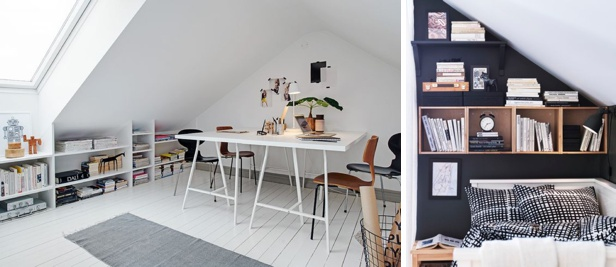 #Attic #Inspiring #Spaces #Ideas #oneo #interior #decor #furnishing #home