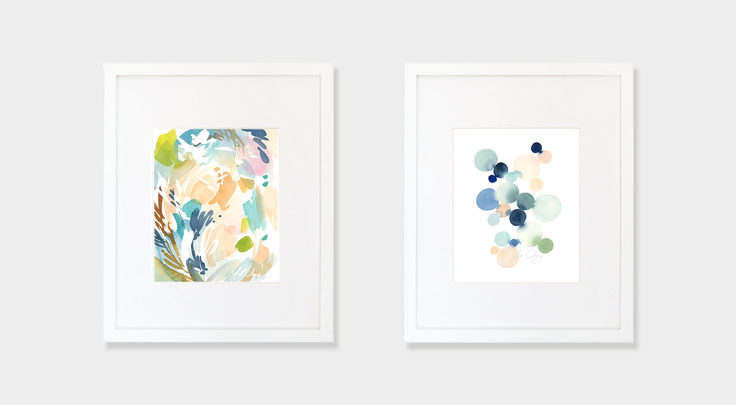watercolor illustrations Yao Cheng Design feat on One O