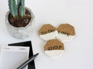 DIY Cork Reminder Magnets