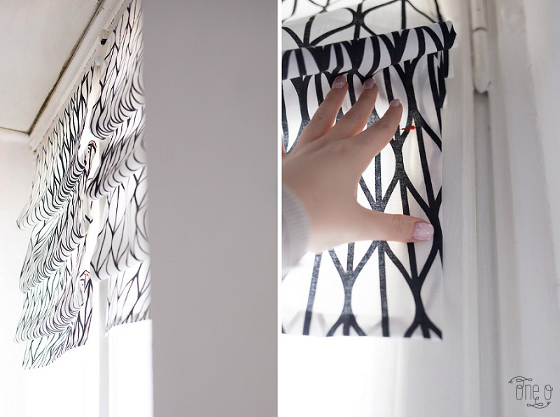 DIY How to Fake Roman Shades_0021