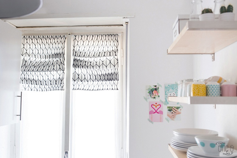 DIY How to Fake Roman Shades_0023