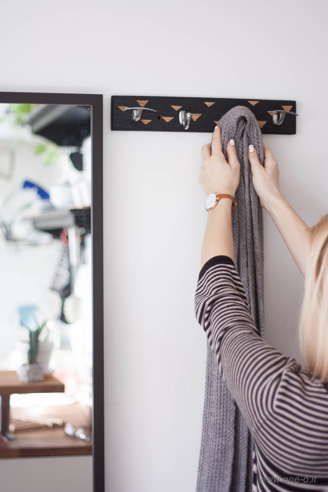 #diy #nordic #scandi #entrance #hanger via One O