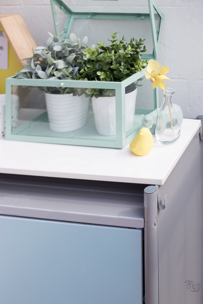 Ikea Hack - HINDÖ Outdoor Cabinet | via www.one-o.it | #outdoor #makeover #cabinet #hindo #diy #spraypaint