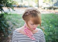 DIY Ascot Scarf aka the Easiest Way to Dress like a French Girl