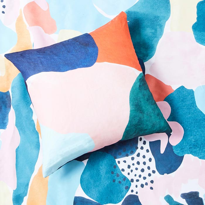 abstract patterns for home shop interior design