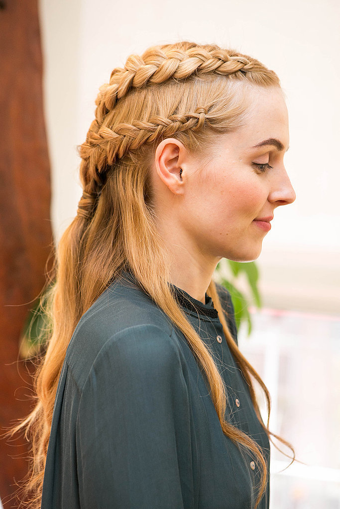 Halloween hair idea - Daenerys from Game of Thrones DIY via Butterfly Studio Salon