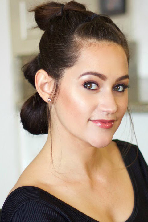 DIY Halloween hair idea - Rey from Star wars via Sarah Rocksdale
