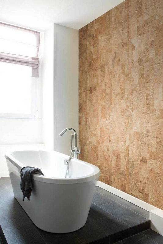 cork-makes-a-comeback-23-modern-ways-to-use-it-cork-walls-cork-wall-in-bathroom-with-standalone-tub-57d970e181c866970ee85165-w620_h800