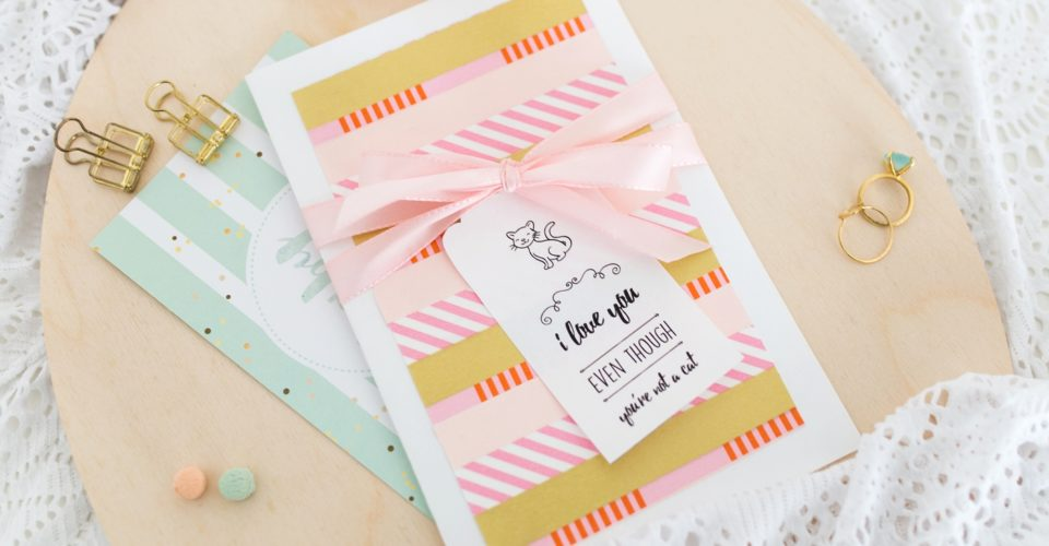 Get Ready for Valentine's Day with this Cute Card collab