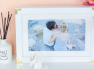 [FREE CANVAS PRINT] DIY Gold Edge Photo Frame with Stampa-su-Tela.it