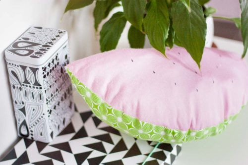 Bring Summer Vibes at Home with this Watermelon Throw Pillow