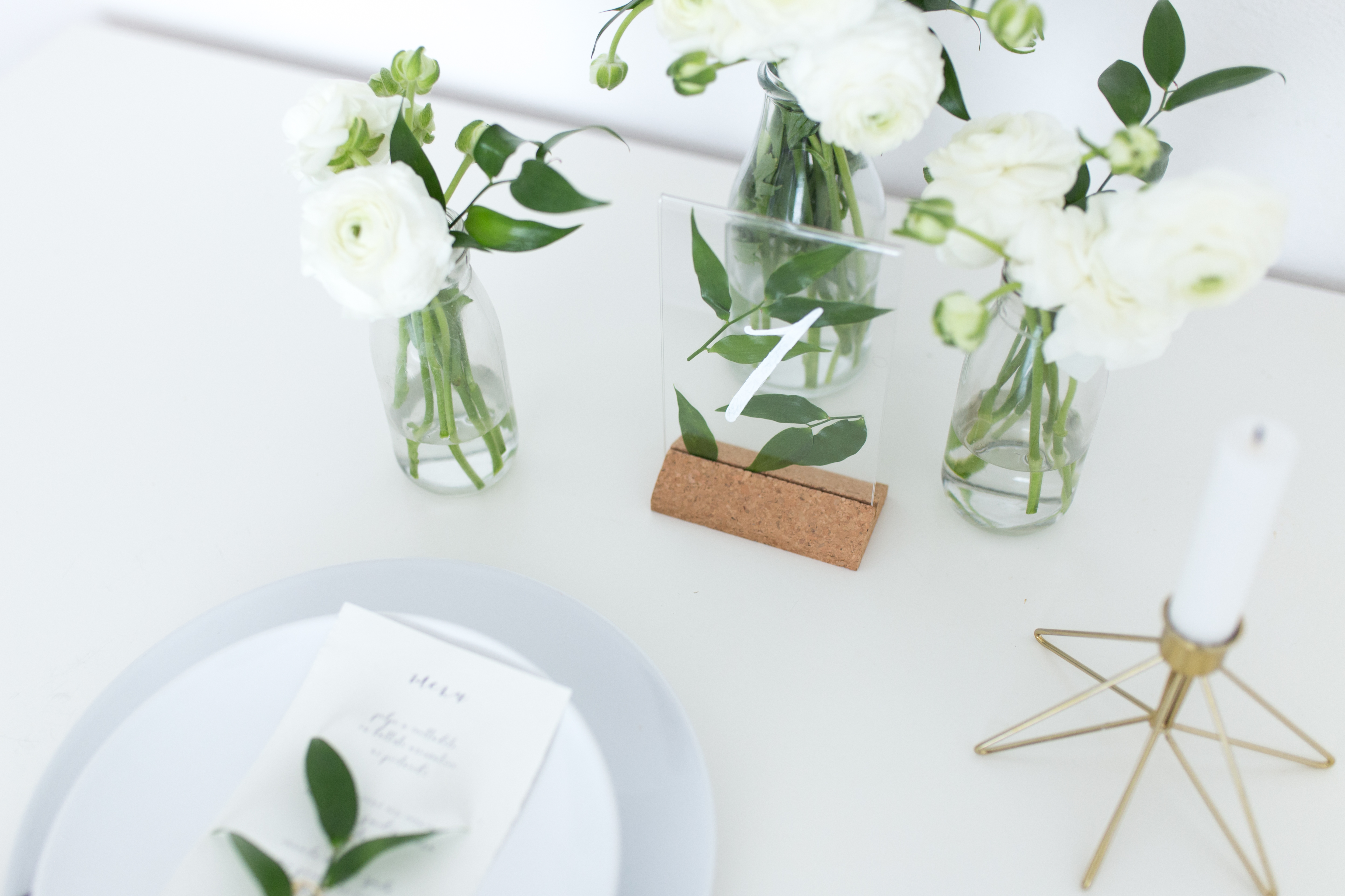 Segnaposto Matrimonio Ikea.Diy Your Table Numbers And Add A Special Touch To Your Wedding