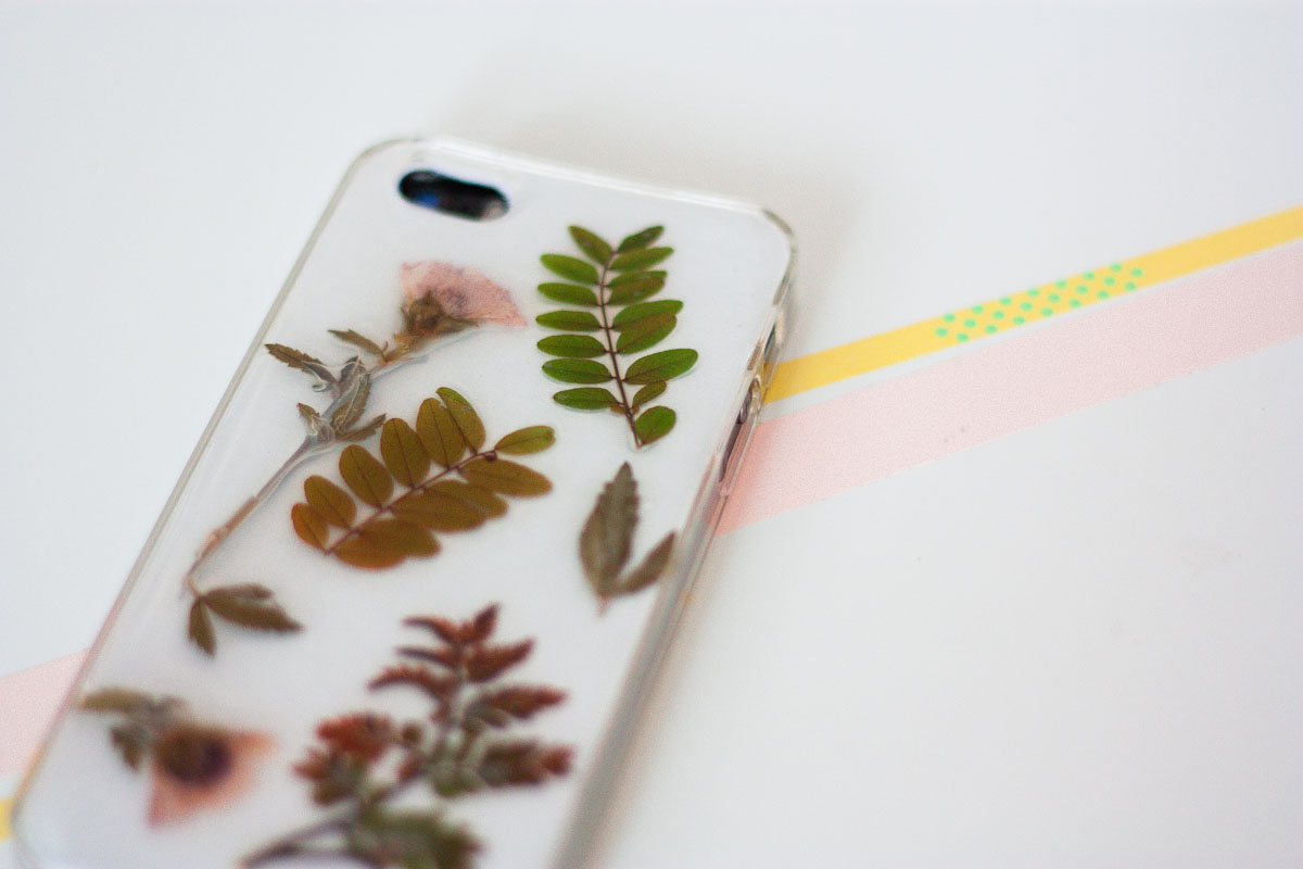 one o botanical iphone case diy cover diy 1