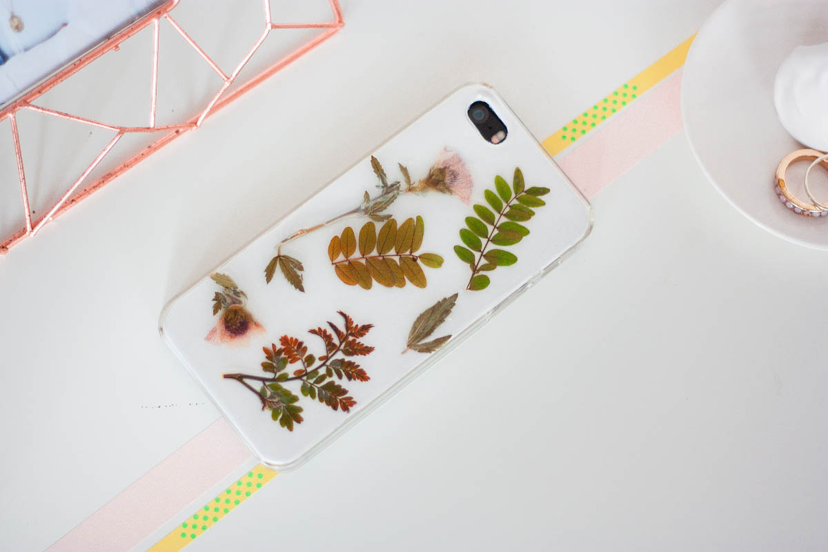 one o botanical iphone case diy cover diy 5