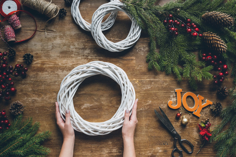 DIY Christmas Wreath for Your Home One O oneo onediy one-o 2