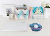 DIY this cute Mouse Pad and Give Your Workspace a Fresh New Look.
