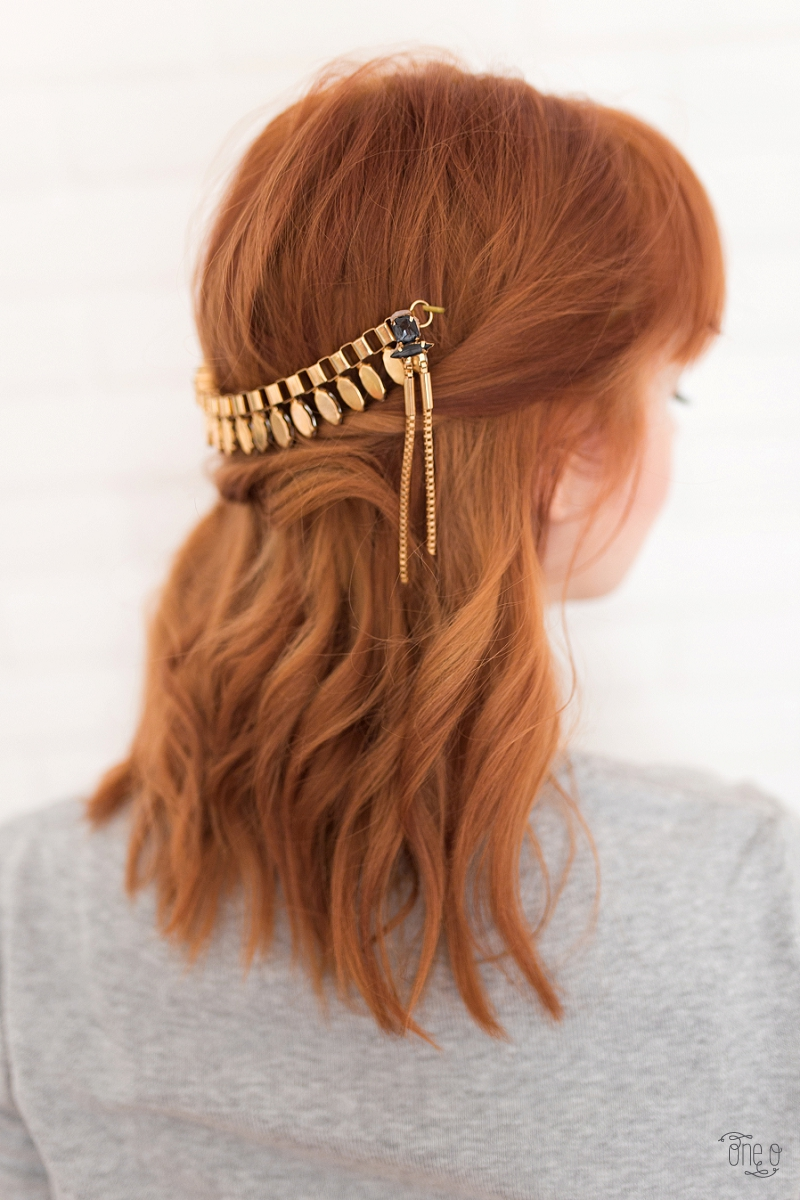 DIY Coachella Hair Pin Hair Accessory (2)